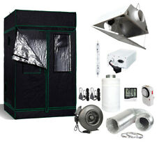 4' x 4' Grow Tent Kit 630W Cmh Cdm De Reflector Fan+Carbon Filter Combo