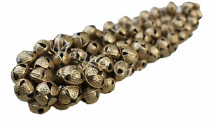 Antique Brass Bells Ghungroo Boho Beads 20 mm Gypsy Tribal Banjara Beads Lot 100