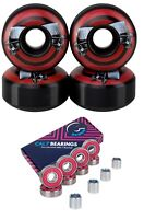 Cal 7 52mm Graphic Skateboard Wheels + Cal 7 Bearings and Spacers