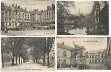LOT 4 CPA Place Royale Jardin Plantes Hôtel de Ville Cours Allée NANTES 302 R