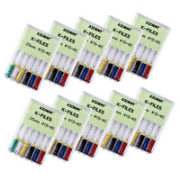 Dental Endodontic Niti K-Files Hand Use Files 25mm 15#-40#  6pc/Pack Root Canal