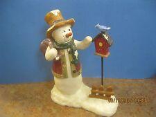 "Vintage Estate Christmas decorations Frosty Snowman  9"" H X 6 1/2"" W"