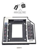 SATA to SATA 2nd HDD/ SSD Caddy, Macbook/ Windows Laptop, CD/DVD-ROM Optical Bay