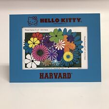 Hello Kitty Harvard Picture Frame Collegiate University 4x6 Metal