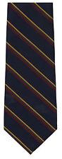 Royal Marines striped polyester necktie