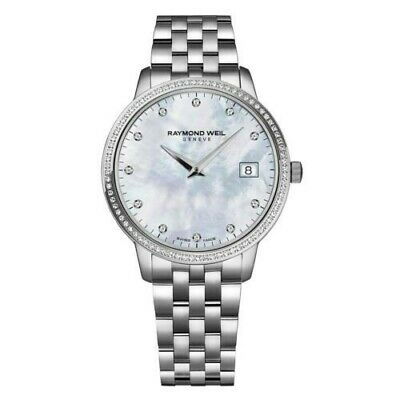 Raymond Weil Toccata  watch Mother of Pearl Dial Diamond 5388-STS-97081