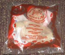 2007 Build A Bear McDonalds Happy Meal Toy - Curly Teddy #4