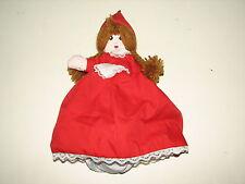 "Storybook Topsy Turvy Reversible Doll Little Red Riding Hood Wolf Grandma 12"""