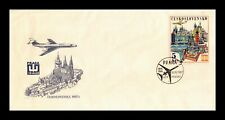 Dr Jim Stamps Praga Philatelic Event Fdc Czechoslovakia Legal Size Cover