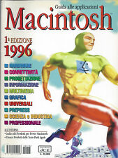 GUIDA ALLE APPLICAZIONI MACINTOSH APPLE ANNO 1996
