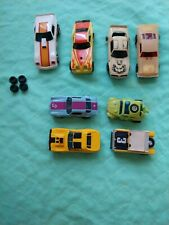 A/FX AFX Slot Cars ( 8 CARS ) AFX - TCR HO Scale parts repair use Camero VW Cuda