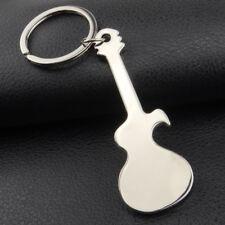 Car Guitar Keychain Key Rings Bag Hanging Pendant Ornaments Bottle Opener Well