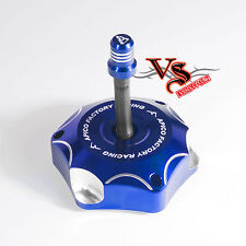 Apico Anodised Fuel Cap inc Vent Pipe YAMAHA YZ85 02-17, YZ125 YZ250 02-17 BLUE