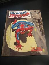 SPECTACULAR SPIDER-MAN Magazine #1 (1968) FN/VF or VF-, but 1 small pc. tape