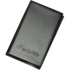 Leatherette Business Name Card Book Booklet Wallet Holder 300 Pouch Organiser