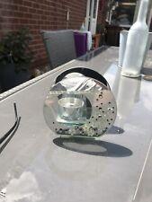 Mirrored Glass Tea light Candle Holder