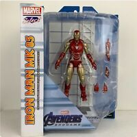 Marvel Select Iron Man MK 85 Collector's Action Figure Avengers End Game New