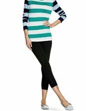 Women's No NONSENSE Black Cotton Capri Leggings Size XXL (2)