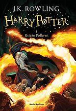 Harry Potter i Ksiaze Polkrwi, J.K. Rowling, polska ksiazka, polish book
