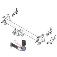 Witter Towbar for MG GS (SUV) 2016 On - Detachable Flange Tow Bar