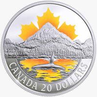 2017 Canada's Coast Srs Pacific Coast 1 oz Silver Colorized Proof $20 SKU47928