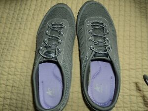 Athletech Gray/gray Sneakers Shoes Women Size 6 Slip On