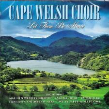 CAPE WELSH CHOIR - LET THERE BE MUSIC (NEW SEALED CD)