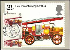 GB-UK PHQ Cards 1974 Bicentenary of Fire Prevention (Metropolis) Act PHQ6F