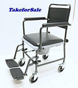 Toilettenstuhl Invacare H720T fahrbar Toilettenrollstuhl WC-Stuhl 135 kg TFS404