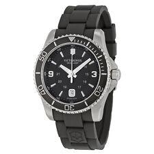 Victorinox Swiss Army Maverick Black Dial Black Rubber Mens Watch 241698