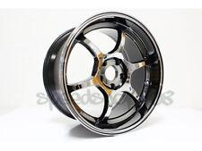 Rota Boost Wheels Ti Chrome 18x95 35 5x1143 Subaru Sti 2005 17 Wrx 2015 2017