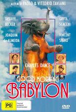 DVD Good Morning Babylon (1987) Joaquim de Almeida, Vincent Spano, Greta Scacchi
