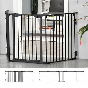 Pet Safety Gate Playpen Fireplace Christmas Tree Fence Stair Barrier