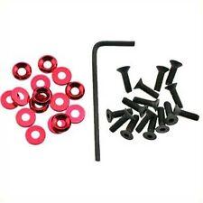 OFNA Rose Aluminum 3mm Concave w/3x12mm FH Screw (15) 10345