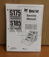 Bobcat  S175 S185 Skid Steer Loader Complete Shop Service Manual 3 PN# 6901828