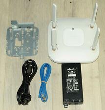 Cisco AIR-CAP2602E-Z-K9  Wireless Access Point w/ Bracket Power Supply 1YrWty