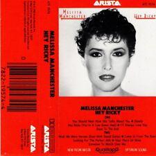 "MELISSA MANCHESTER ""HEY RICKY"" CASSETTE 1982 arista"