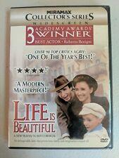 """Life Is Beautiful"" Dvd-Starring Roberto Benigni #129"