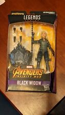 BLACK WIDOW MARVEL LEGENDS AVENGERS INFINITY WAR SEALED BAF SERIES CULL OBSIDIAN