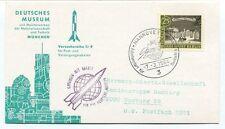 1964  Deutschen Musuem Munchen Versuchsreihe Tr9 Geflogen Rakete Hannover SPACE