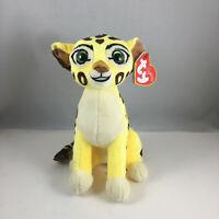 "Ty Beanie Baby 6"" FULI the Cheetah (Disney The Lion Guard) Plush Animal Toy MWMT"