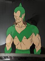 HE-MAN MASTERS OF UNIVERSE Original Production Animation Cel Willen Tree MOTU