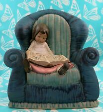 NAO by Lladro # 0339 ~ GIRL IN ARMCHAIR   *** MINT ***   BUY 1 GET 1 50% OFF