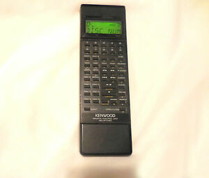 Kenwood RC-P7740 Remote Control Guaranteed Working BUT Missing Battery Cover