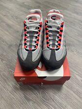 Nike Air Max 95 OG White Solar Red Granite Dust Size 12 AT2865-100