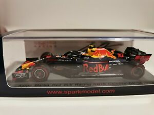 Signed Spark Pierre Gasly 1/43 Red Bull Racing RB15 China 2019