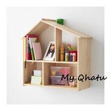 IKEA FLISAT Dollhouse Wall Shelf Pretend Play Storage Solid Pine 502.907.85 NEW