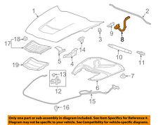 Chevrolet GM OEM 14-18 Corvette Hood-Hinge Left 23432066