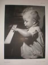 Self-taught Marcus Adams baby art photograph 1941