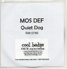 (978Z) Mos Def, Quiet Dog - DJ CD